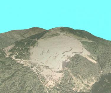 3D model of Lespezi quarry